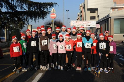 Volti e immagini della Christmas Running 2012
