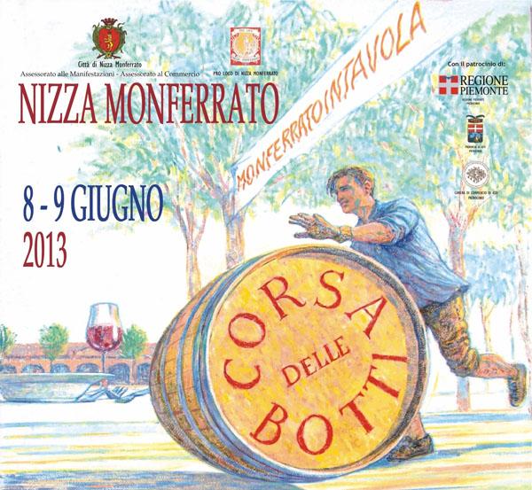 Week-end a Nizza Monferrato, tra Corsa delle Botti e Monferrato in Tavola