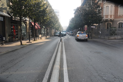 """Corso Dante chiuso al traffico. Modesto l'aumento di pedoni e intasamenti. Brignolo: """"Ripeteremo la chiusura solo in occasione di manifestazioni e animazione"""""""