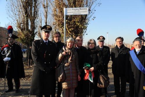 """Masino: """"Piazza d'Armi è già stata intitolata alla memoria di Cosma Manera"""""""