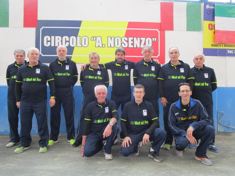 Bocce. BRB Ivrea, La Perosina, Pontese e Borgonese alle semifinali scudetto
