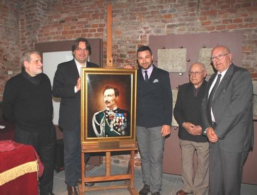 Accolto al Museo del Risorgimento il ritratto del generale Giuseppe Govone