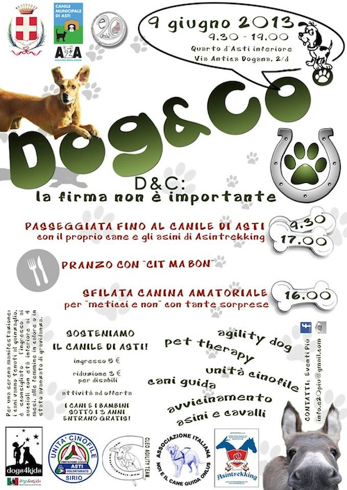 Dog & Co: beneficenza e divertimento al Canile di Asti