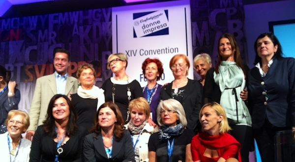 """Una delegazione astigiana alla convention nazionale """"Donne Impresa Confartigianato"""""""