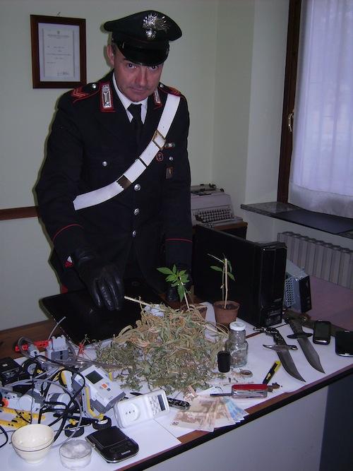 """Tecnico informatico con l'hobby del """"giardinaggio"""" arrestato dai carabinieri di Alba"""