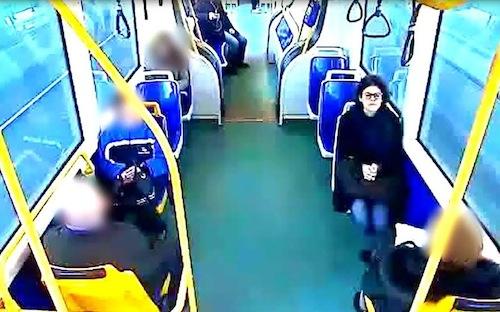 E' Elena Ceste la donna sul tram?