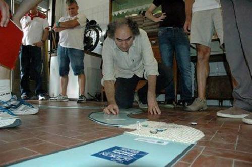 Ciclotappo. Enzo Armando campione d'Italia