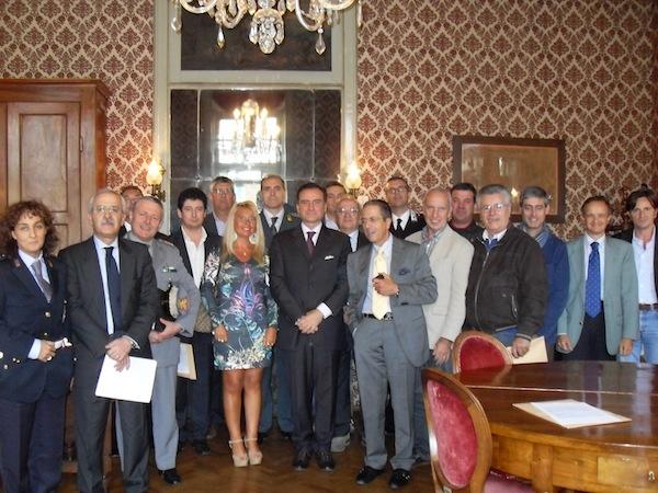 Incontro a San Damiano d'Asti del Comitato Provinciale per l'Ordine e la Sicurezza Pubblica