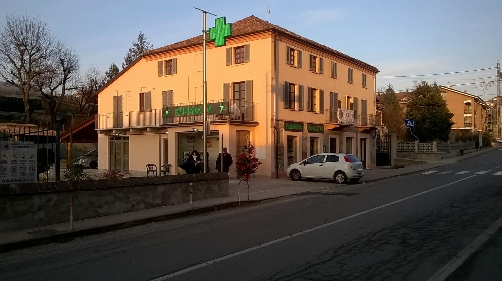 Nuova farmacia in frazione Boglietto di Costigliole