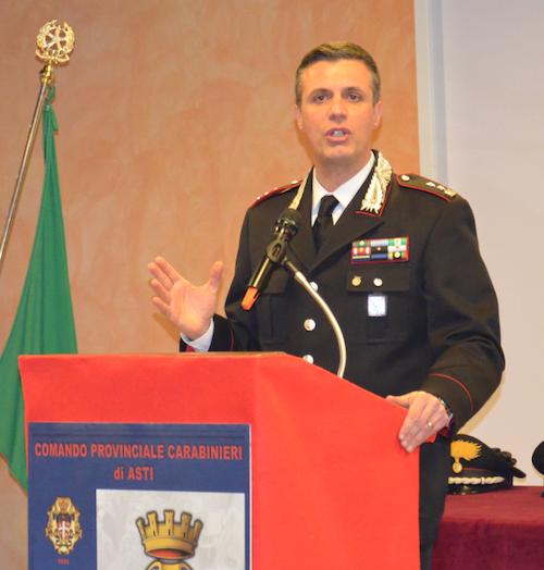 Il comandante Federici cittadino onorario di Incisa Scapaccino
