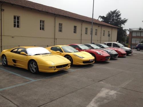 """Un prezioso """"parco Ferrari"""" in via Natta"""