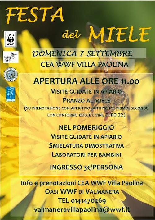 A Villa Paolina la prima festa del miele