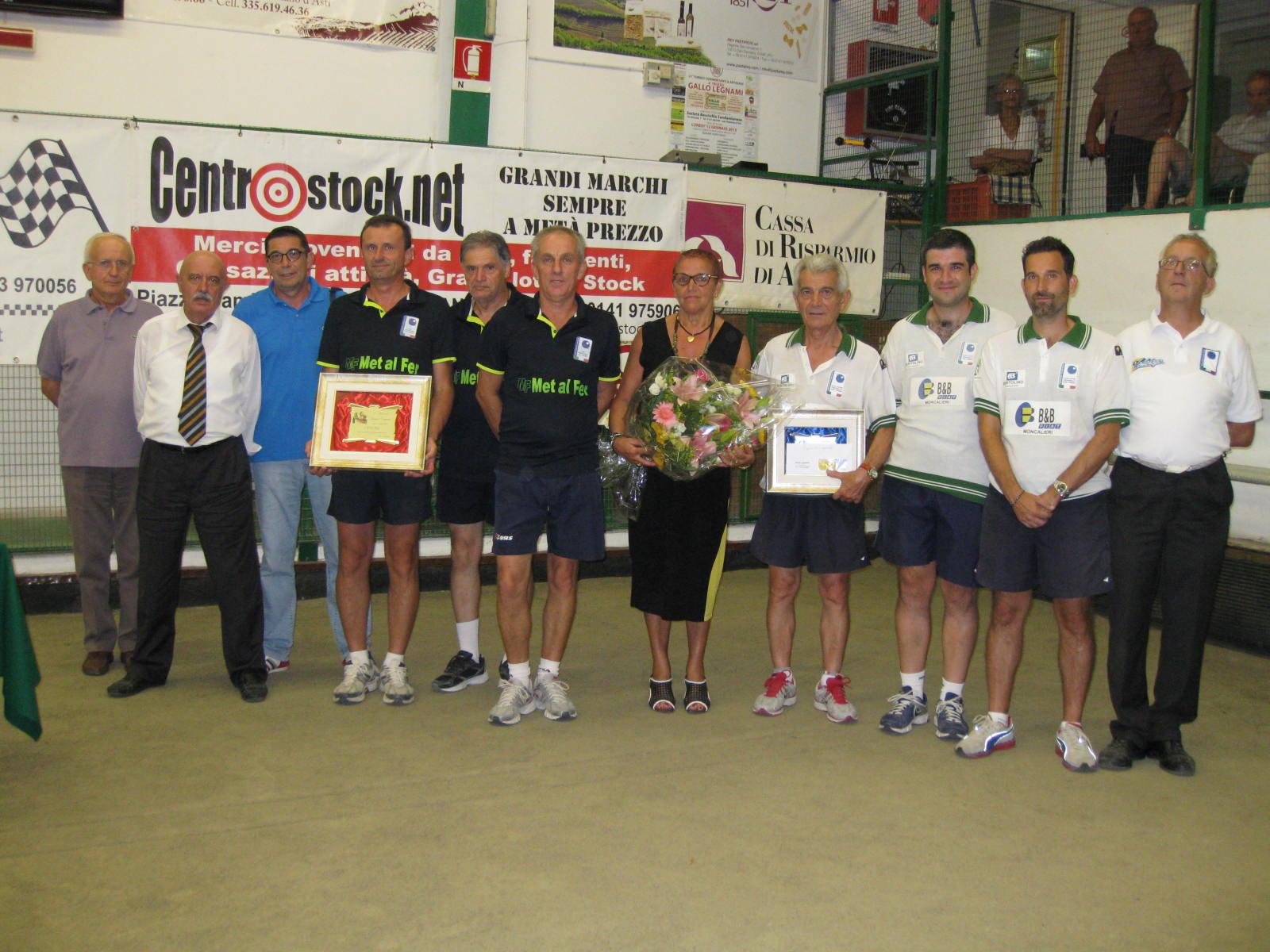 "Bocce: grande successo al Memorial ""Luigino Demarie"""