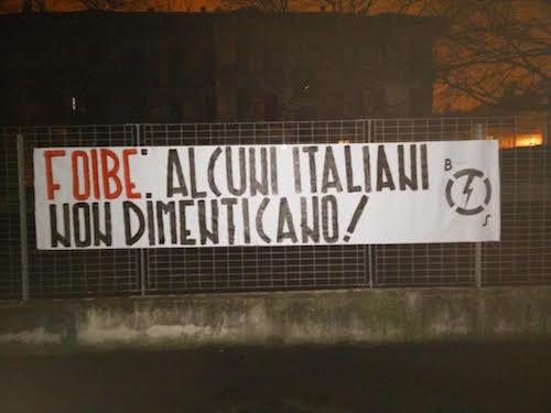 Blocco Studentesco celebra il giorno del ricordo ad Asti e in tutta Italia