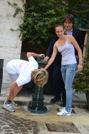 Ripristinata la fontanella di piazza San Secondo