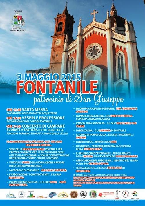 A Fontanile si festeggia il Patrocinio di San Giuseppe