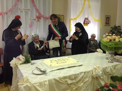 La vita è un dono: i 110 anni di Florenza Paniate