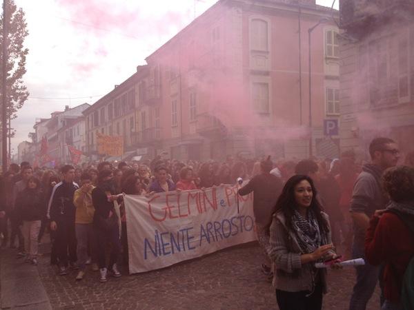 I volti e le immagini dello sciopero degli studenti