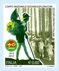 Un nuovo francobollo dedicato ai Giovani Esploratori