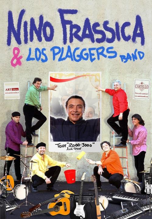 Nino Frassica e i Los Plaggers sul palco del Contro Festival