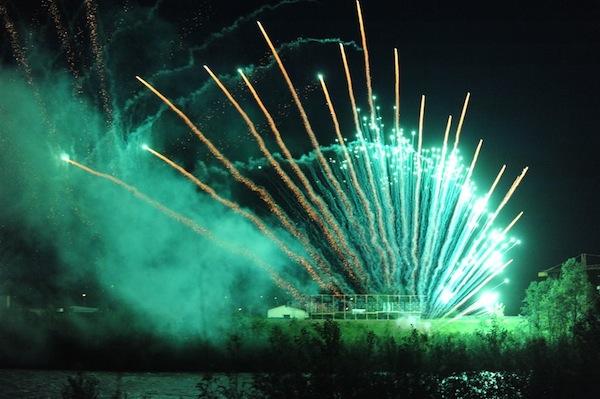 Stasera i fuochi d'artificio per San Secondo