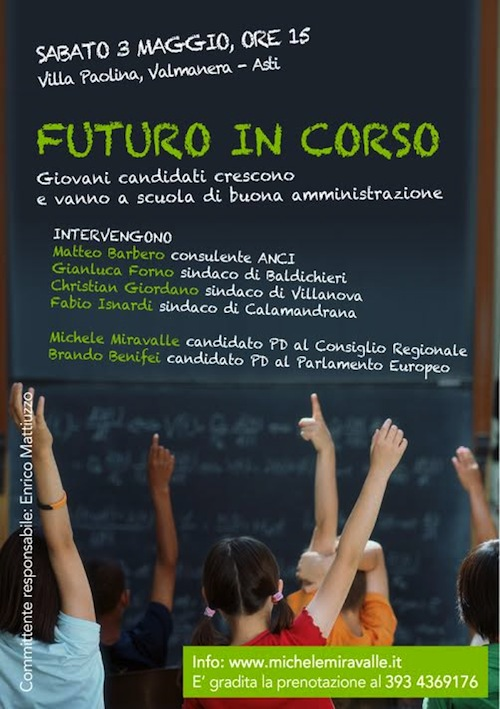 Futuro in corso, un pomeriggio per i giovani amministratori
