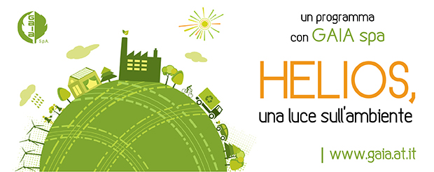 """Su Primaradio un nuovo appuntamento """"green"""": Helios, una luce sull'ambiente"""