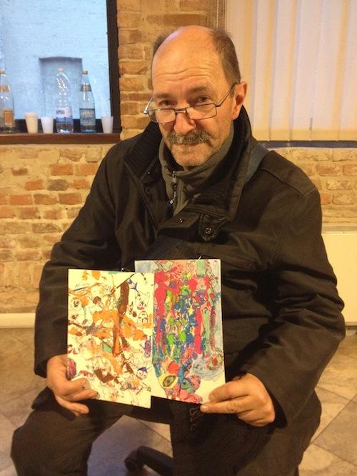 Cosimo Gatti torna a fare il pittore con un'esposizione ad Agliano Terme