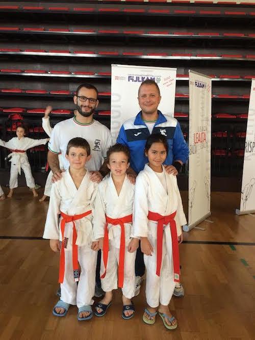 Due bronzi e un argento per il ragazzi del Judo Monferrato