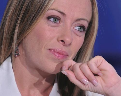Giorgia Meloni ad Asti per appoggiare Maurizio Rasero