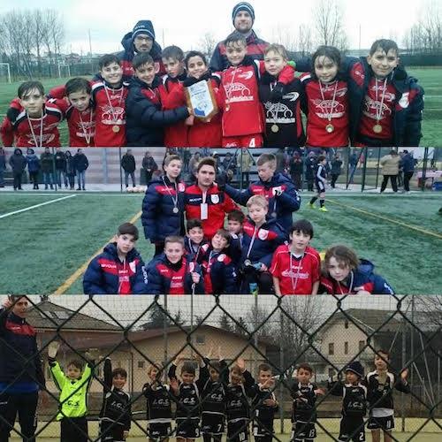 Intenso week end per le giovanili della sezione calcio della Polisportiva Mezzaluna