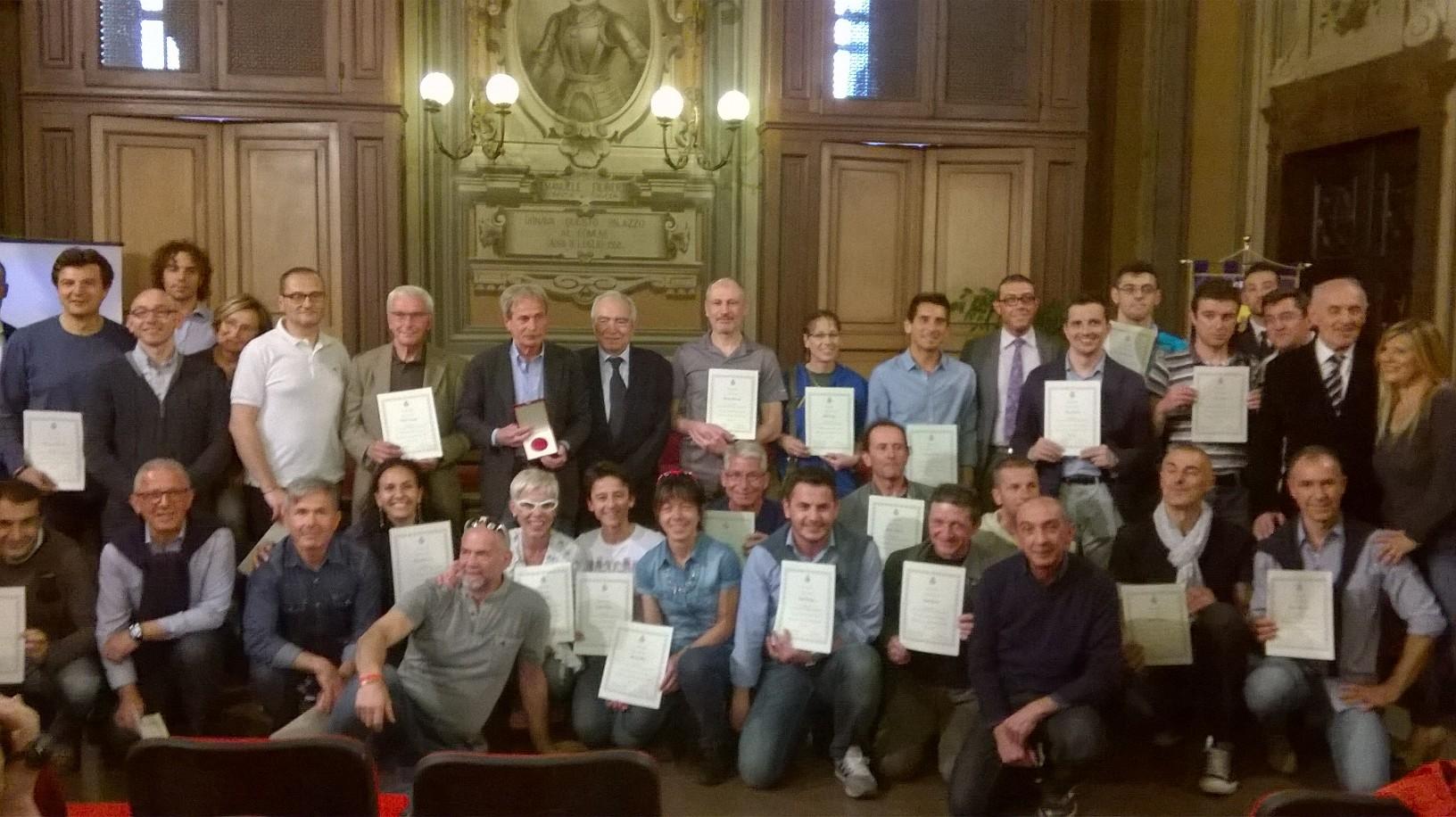 Premiazione degli Ambasciatori della Città di Asti
