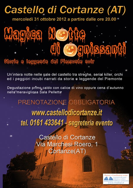 Halloween al Castello di Cortanze