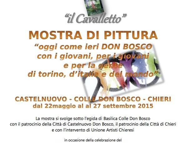 Mostra di pittura a Castelnuovo Don Bosco