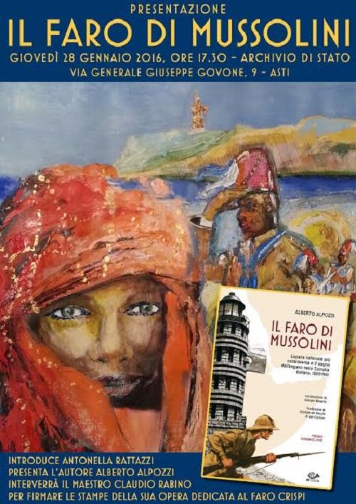 """All'Archivio di Stato presentazione del libro """"Il Faro di Mussolini"""""""