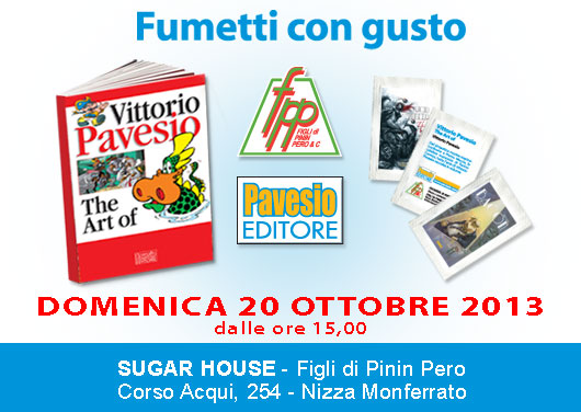 I libri di Pavesio Editore diventano bustine di zucchero
