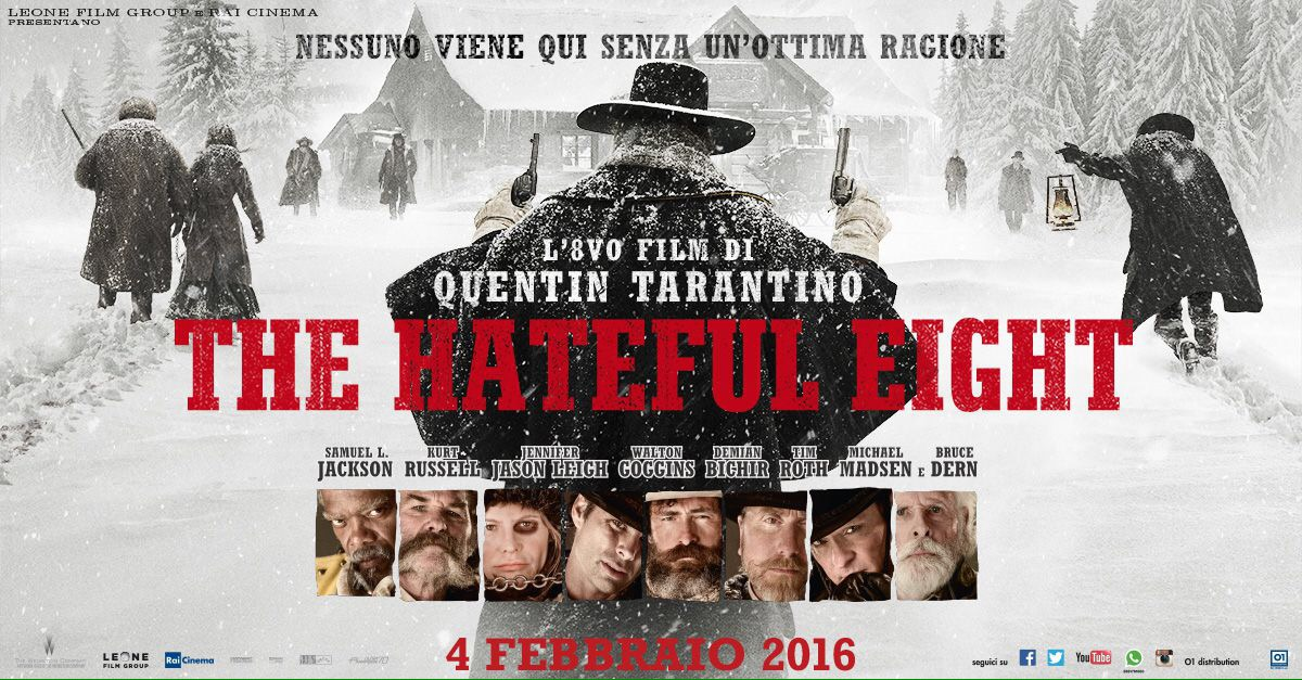 The Hateful Eight in sala Pastrone