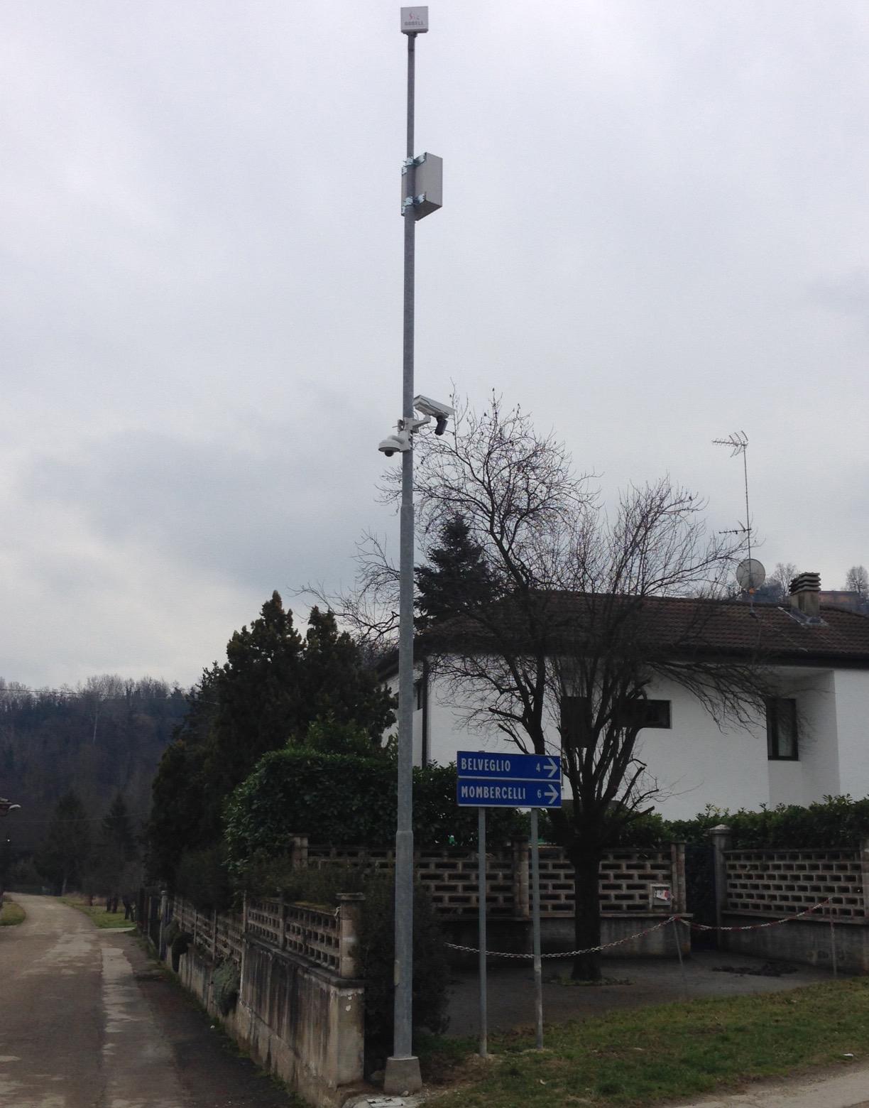 A Rocchetta Tanaro nuovo sistema di videosorveglianza