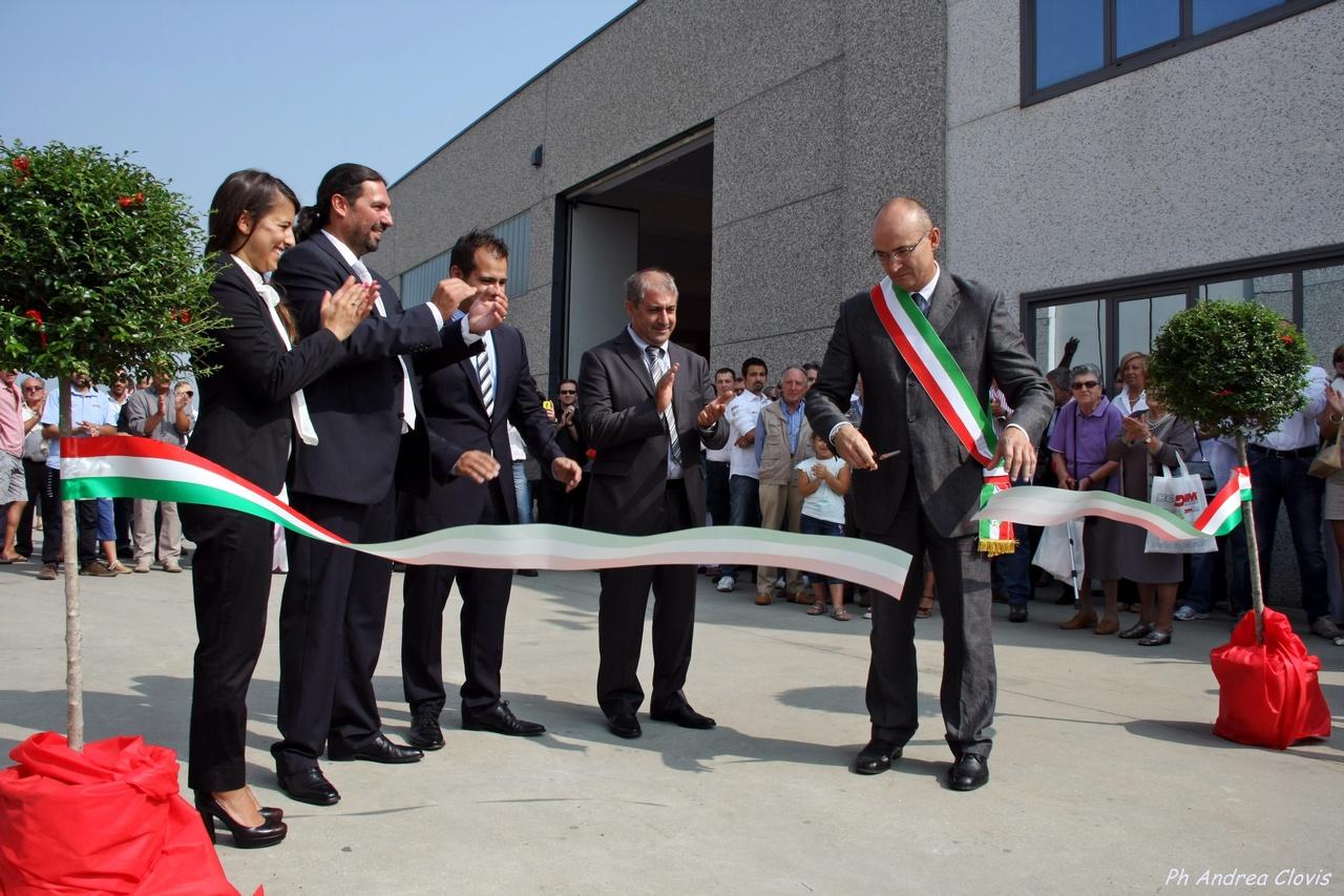Inaugurata la nuova sede della Holdim Gorup, una piccola azienda conosciuta in tutto il mondo