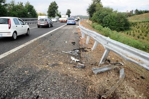 Nell'Astigiano calano gli incidenti stradali