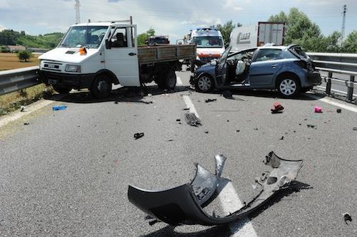 Tra Piemonte e Val d'Aosta calano gli incidenti su strade e autostrade