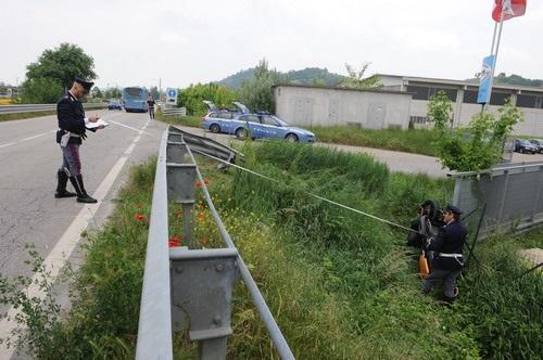 Scontro moto-auto a Isola d'Asti