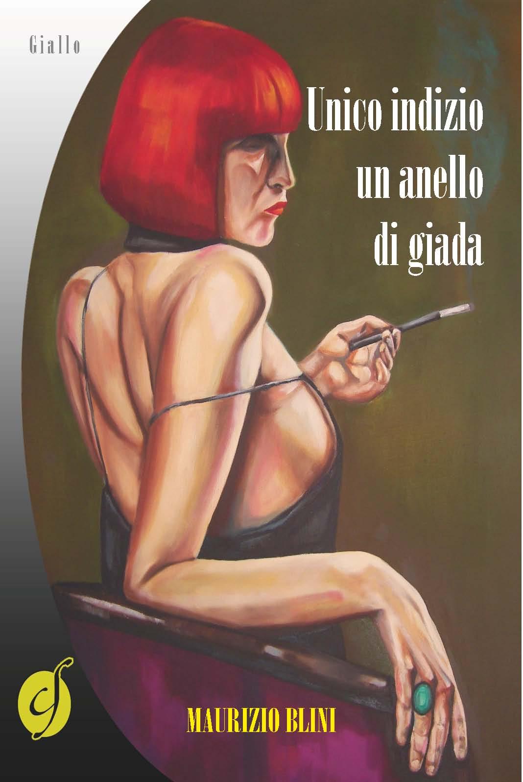 """""""Unico indizio un anello di giada"""": il nuovo romanzo di Blini alla libreria Marchia"""
