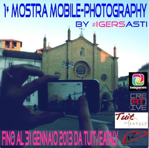 Al via la prima mostra mobile-photography dedicata all'Astigiano