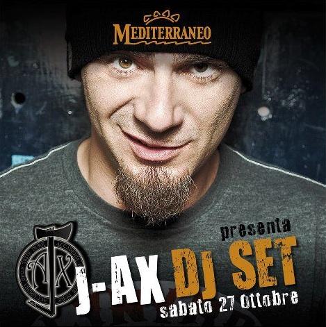 Sabato al Mediterraneo dj set di J-Ax