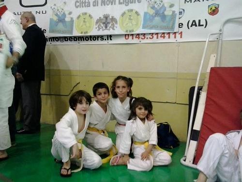 I piccoli atleti del Judo Asti Club al 30° torneo di Novi Ligure