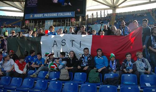 Lo Junior Asti Rugby in trasferta a Roma per la sfida degli Azzurri contro gli All Balcks