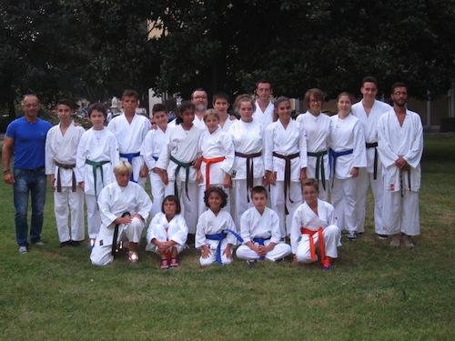 Karate. Terza edizione dell'allenamento zero per gli atleti della Kbcenter 2000