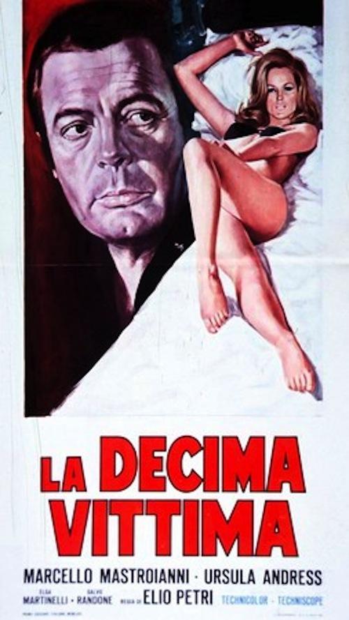 """Al cinema Massimo in sala con """"La decima vittima"""""""