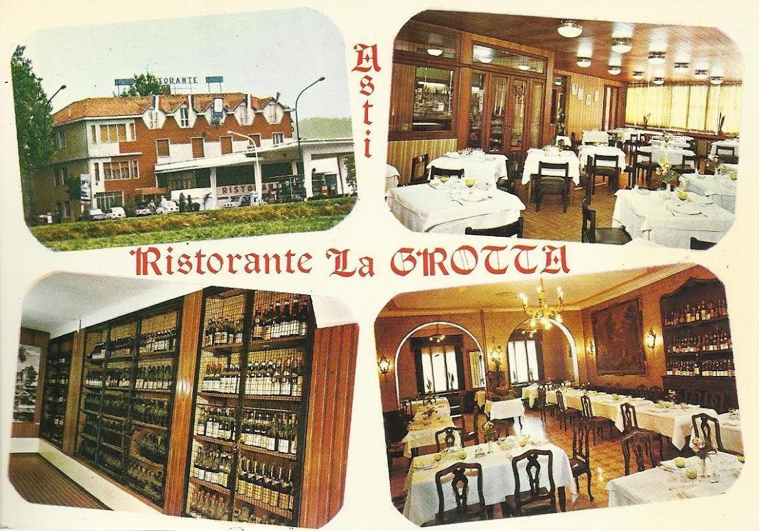 Al ristorante La Grotta il sigillo della città di Asti